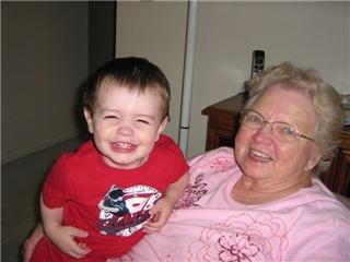 Jordan and Grandma 2008